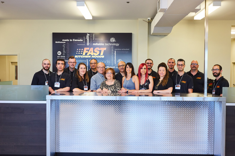 Fast Kitchen Hoods / Grand Opening