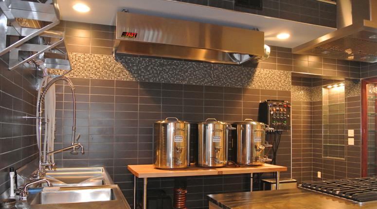 Condensate Amp Vapor Hood Brewery Vent Hood Fast Kitchen